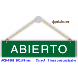 Placa Abierto-Cerrado
