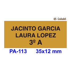 Placa interfono metallex