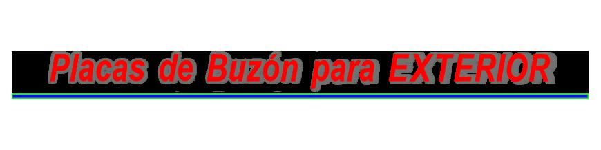 - Formato Pequeño, placa buzón 2 tamaños, grabado Láser de 1-4 líneas de texto 3.90 todo incluido
