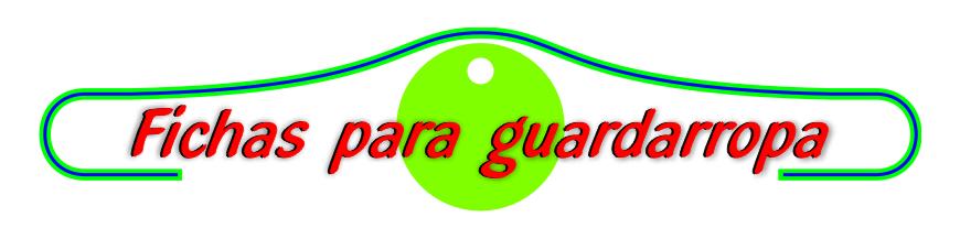 - Fichas GRABADAS para Guardarropa, Vestuarios y otras apicaciones