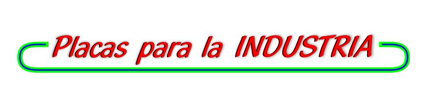 - Placas para Cuadros Eléctricos e Industria